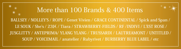 100 Brands & 400 Items
